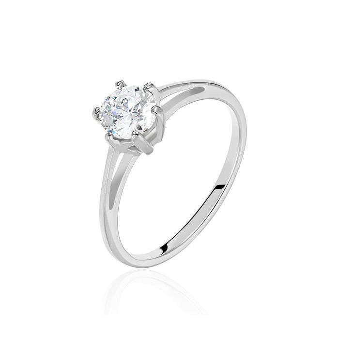Ring Arica - Solitaire - Diamond - 18k Gold - Eternit Jewellry - Colombia