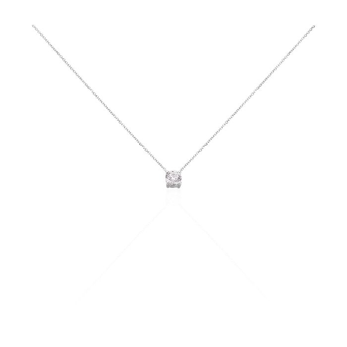 Diamond Pendant - 18k Gold - Diamond | Eternity Joyeria