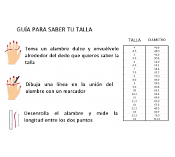 Anillo de compromiso Barcelona: Solitario de 6 uñas con diamante