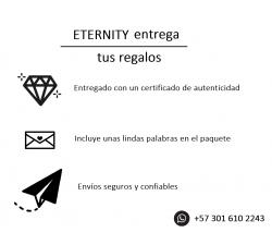 Anillo de compromiso Sevilla: Hermoso pavé frances de diamantes