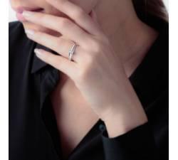 Anillo de Compromiso Melbourne: De oro y diamantes