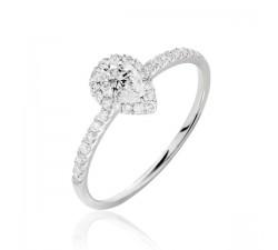 Anillo de compromiso Vermont: Diamante de...