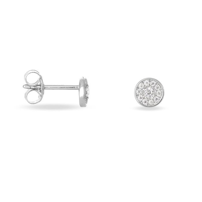 Pavé Diamond Studs