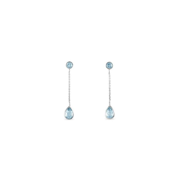 Topaz Earrings - Women - Married - Gold 18k - Bogota - Colombia