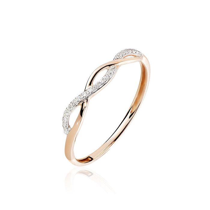 Berlin Ring - Gold - Diamonds - Eternity Jewelry - Bogota Colombia