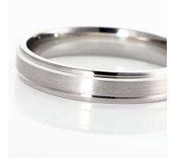 Argolla de matrimonio Virginia: Pulida, robusta y hecha para durar