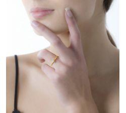 Anillo de compromiso Oslo: Seis uñas para un toque mas relevante