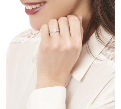 Anillo de compromiso Vermont: Diamante de talla en pera