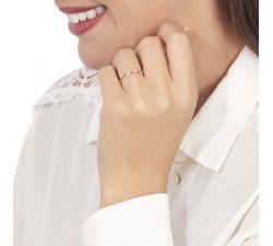 Argolla de matrimonio Tobago: En forma de pequeñas hojas de diamante