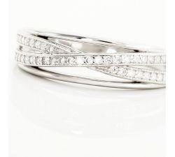 Argolla de matrimonio Kaduna: Moderno y envolvente de diamantes