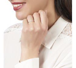 Argolla de matrimonio Umlazi: Doble fila de diamantes