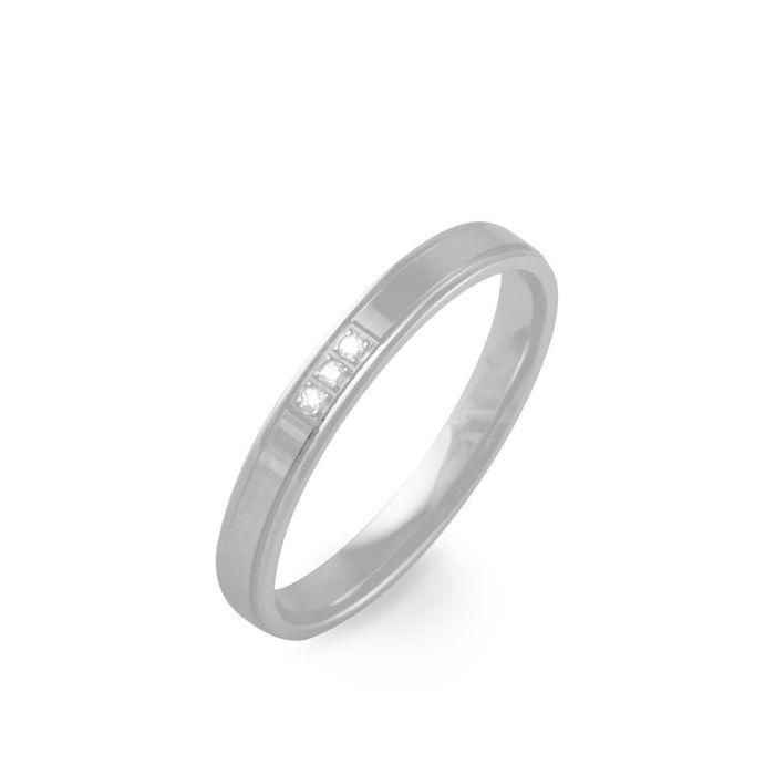 Argolla de matrimonio Pune: Joyería para él de diamante